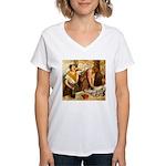 Repasseu Women's V-Neck T-Shirt