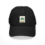 MOQUIN Family Crest Black Cap
