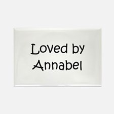 Cute Annabel Rectangle Magnet