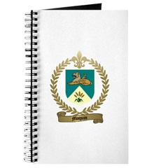 MOQUIN Family Crest Journal