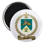 MOQUIN Family Crest Magnet