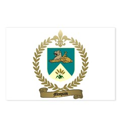 MOQUIN Family Crest Postcards (Package of 8)