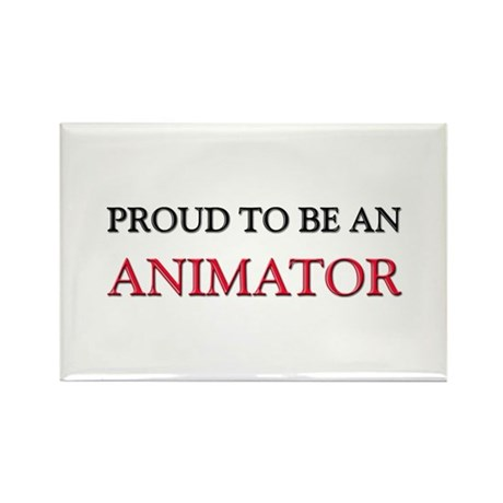 Proud To Be A ANIMATOR Rectangle Magnet (10 pack)