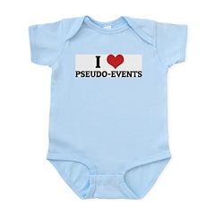 I Love Pseudo-events Infant Creeper