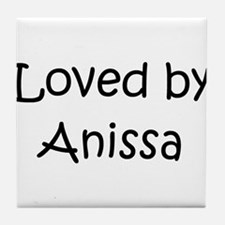 Cute Anissa Tile Coaster