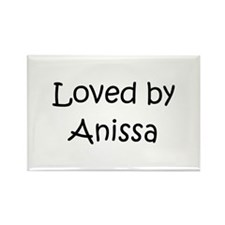 Cute Anissa Rectangle Magnet