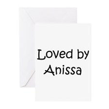 Cute Anissa Greeting Cards (Pk of 20)