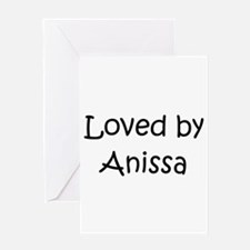 Cute Anissa Greeting Card