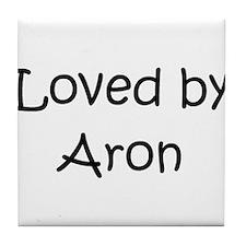 Cute Aron Tile Coaster