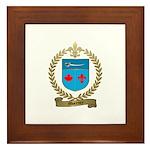 MORENCY Family Crest Framed Tile