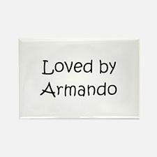 Cute Armando Rectangle Magnet