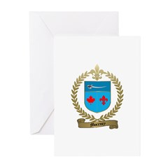 MORENCY Family Crest Greeting Cards (Pk of 10)