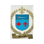 MORENCY Family Crest Rectangle Magnet (10 pack)