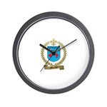 MORENCY Family Crest Wall Clock