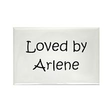 Unique Arlene Rectangle Magnet (10 pack)