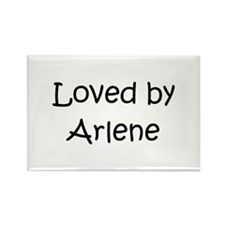Unique Arlene Rectangle Magnet
