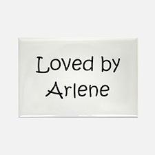 Unique Arlene Rectangle Magnet