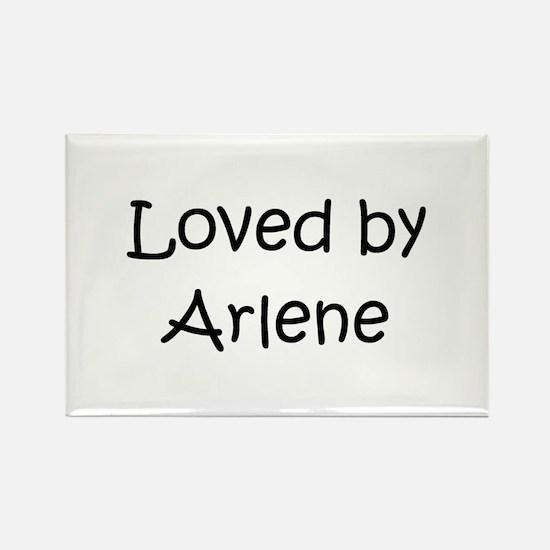 Funny Arlene Rectangle Magnet