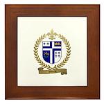 MORIN Family Crest Framed Tile