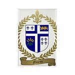 MORIN Family Crest Rectangle Magnet (100 pack)