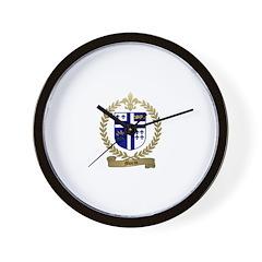 MORIN Family Crest Wall Clock