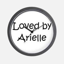 Unique Arielle Wall Clock