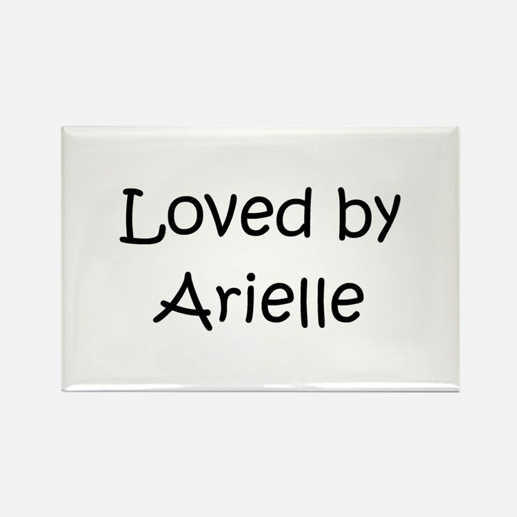 Cute Arielle Rectangle Magnet