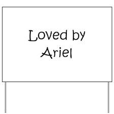 Unique Ariel Yard Sign