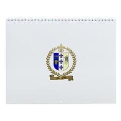 MORISETTE Family Crest Wall Calendar