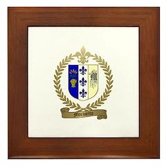 MORISETTE Family Crest Framed Tile