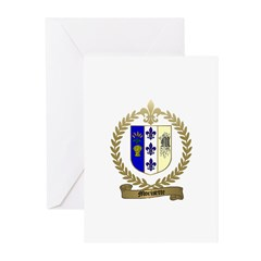 MORISETTE Family Crest Greeting Cards (Package of