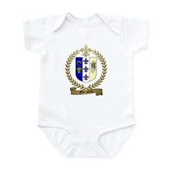 MORISETTE Family Crest Infant Creeper