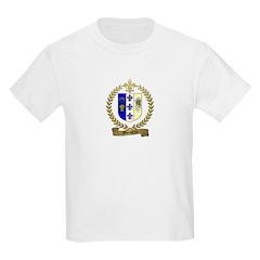 MORISETTE Family Crest Kids T-Shirt