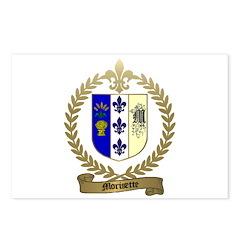 MORISETTE Family Crest Postcards (Package of 8)