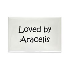Funny Araceli Rectangle Magnet