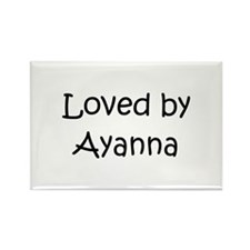 Cute Ayanna Rectangle Magnet (10 pack)