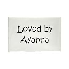 Cute Ayanna Rectangle Magnet