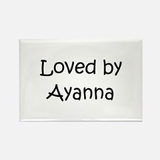 Funny Ayanna Rectangle Magnet
