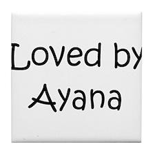 Cute Ayana Tile Coaster