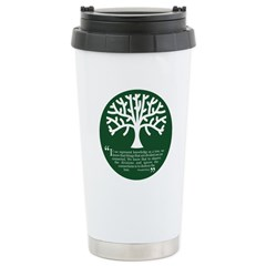 Connections Stainless Steel Travel Mug