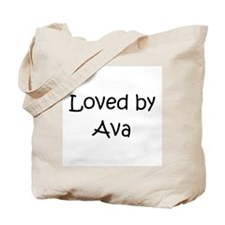Cute Ava Tote Bag