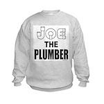 JOE THE PLUMBER Kids Sweatshirt