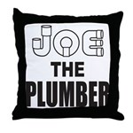 JOE THE PLUMBER Throw Pillow