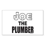 JOE THE PLUMBER Rectangle Sticker 10 pk)