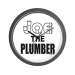 JOE THE PLUMBER Wall Clock