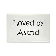 Unique Astrid Rectangle Magnet