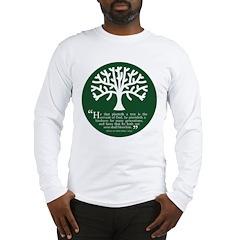 Planteth A Tree Long Sleeve T-Shirt
