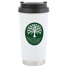 Planteth A Tree Travel Coffee Mug