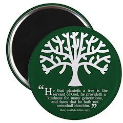 Planteth A Tree Magnet