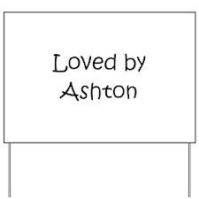 Cute Ashton Yard Sign